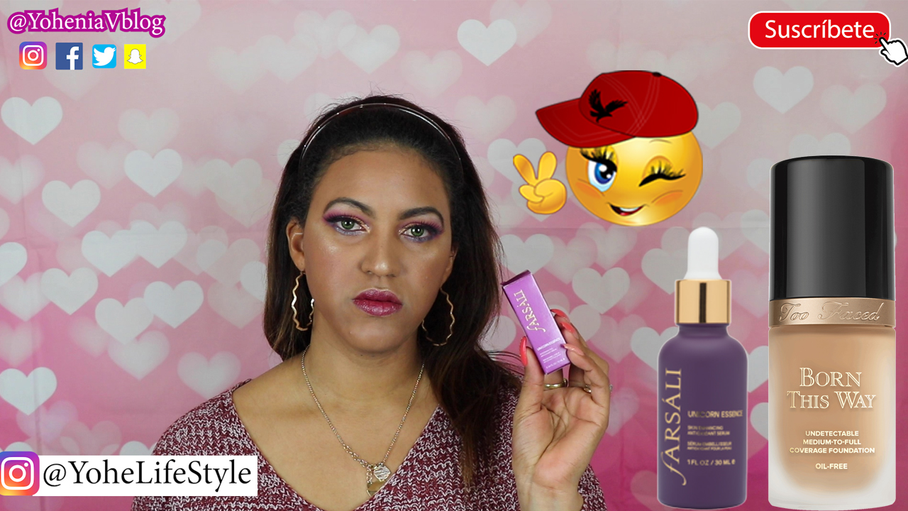 REVIEW FARSALI UNICORN ESSENCE + FONDOTINTA BORN THIS WAY TOO FACED